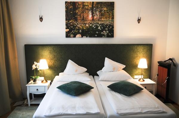 Klassik Zimmer im Hotel Goldenes Lamm in Villach
