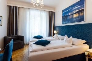 Renoviertes Bad im Hotel Goldenes Lamm in Villach